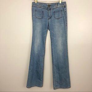 Cabi Malibu Flare Light Wash Jean
